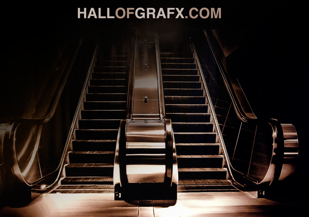 HallofGrafx Escalator